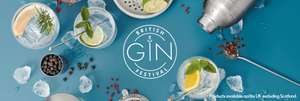 British gin festival at Lidl - range of craft gins from £19.99