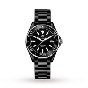 Ladies TAG Heuer Aquaracer 300M Ceramic 35mm Quartz Watch £1295 + Free Next Day del @ Goldsmiths