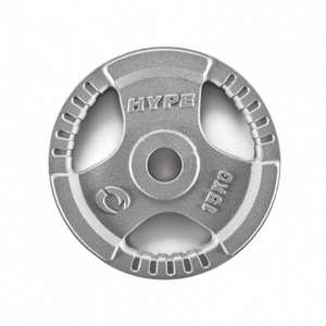 2 x 15KG CAST IRON OLYMPIC PLATES £31.35 @ Monster Supplements