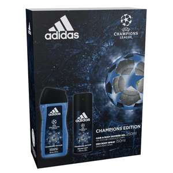 Adidas Uefa Duo Gift Set  £3.00 free C&C at Superdrug