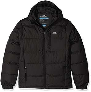 Trespass Tuff, Black, 7/8, Waterproof Jacket with Removable Hood for Kids / Boys, Age 7-8, Black - £19.50 sold by Waterproofs UK @ Amazon