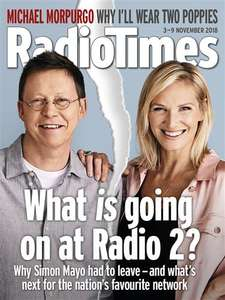 Radio Times 10 issues Inc Christmas Issue for £1 (Set to: North West, Yorkshire, North East) @ Buy Subscriptions