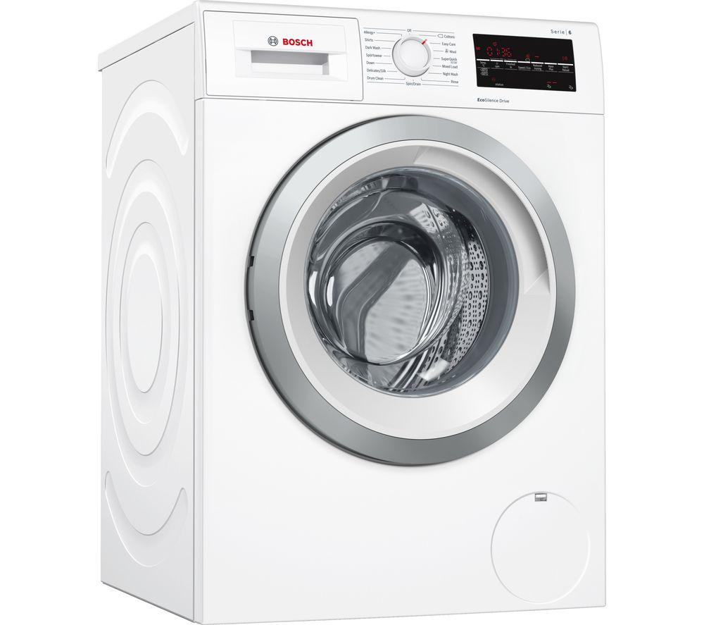 BOSCH Serie 6 WAT28450GB 9 kg 1400 Spin Washing Machine - White £351 w/code @ Currys
