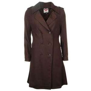 Lee CooperTrench Coat Ladies in Brown £12 + £4.99 P&P @ Sports Direct