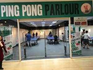 Free table tennis at ping pong parlours across uk
