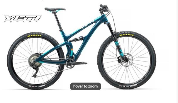 Yeti SB4.5 C-Series XT-SLX 29er Mountain Bike 2018 - Trail Full Suspension MTB £3419.99 @ tredz