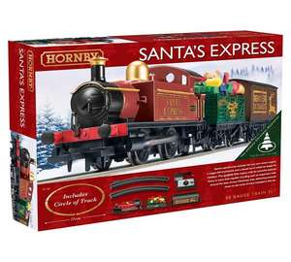 Hornby R1185 Santa's Express Christmas Train Set was £69.99 now £49.99 @ Argos. Free C+C
