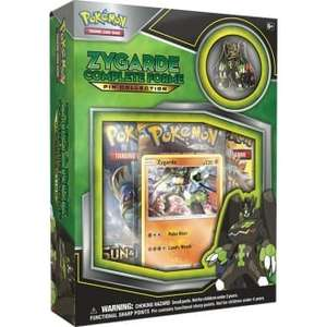 Pokemon Zygarde Complete Collection Booster Box (3 booster packs and limited pin) £5 @ Chaos Cards
