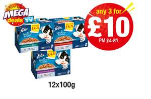 Felix As good as it looks 3 for £10 @ Premier Stores Mickleover Derby