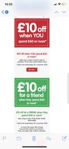 £10 off £60 spend Early learning centre