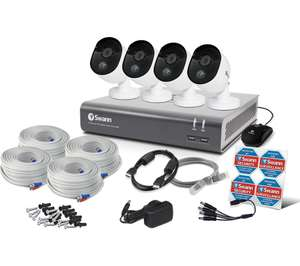 SWANN SWDVK-845804V-UK 8-Channel Full HD 1080p Smart Security System - 1 TB, 4 Cameras £252 @ Currys