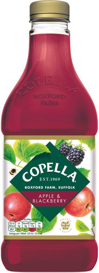 Copella Apple & Blackberry Juice (1.35L) £1 @ Heron Foods