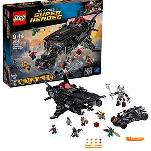LEGO DC Comics Super Heroes 76087 Justice League Flying Fox: Batmobile Airlift Attack was £99.99 now 69.19 delivered @ Amazon