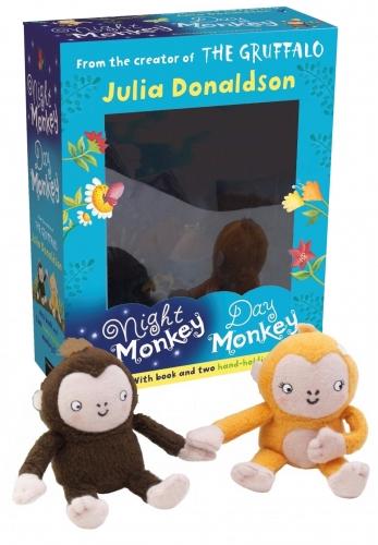 Night monkey, day monkey toy & book set £5 + £2.49 del @ Snazal