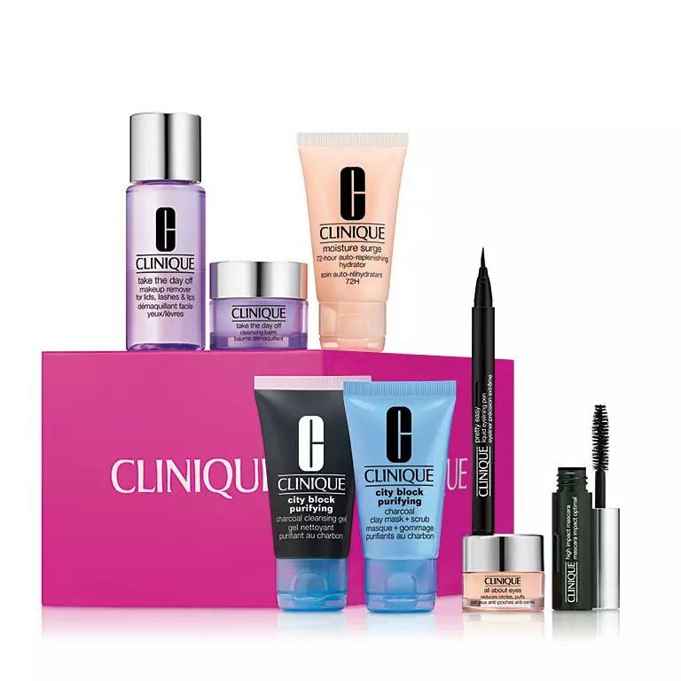 Stars of Clinique gift set half price at Debenhams for £30 (free C&C)