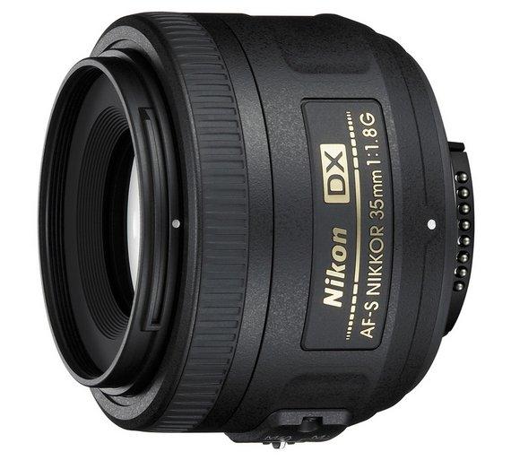 Nikon AF-S DX Nikkor 35mm f/1.8 Lens at Argos for £139.99