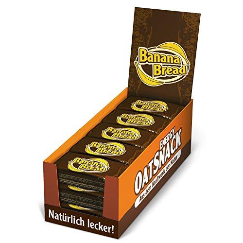 Oat Snack 70g Riegel Banana Bread (15 x 70g, Total 1050g) @ Amazon £9.31 Prime £13.80 Non Prime