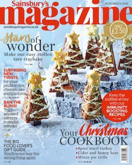 Free Cook's Calendar with Sainsbury's Magazine