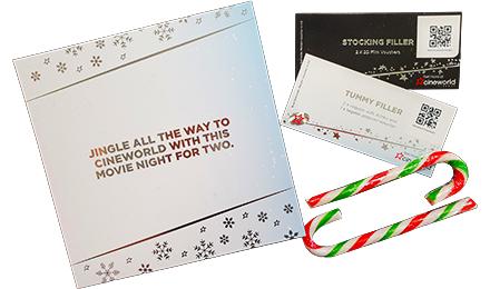 Cineworld Christmas box Value £30.30 > £26.50 delivered, in presentation box