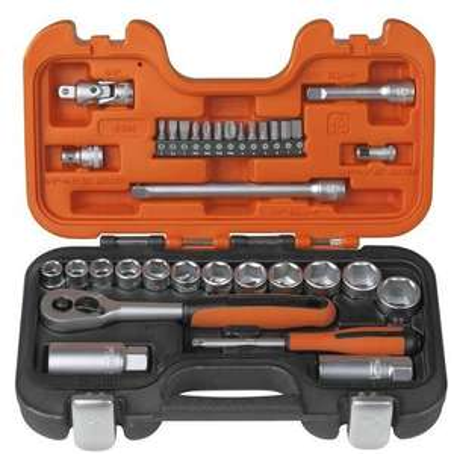 Bahco S330 Socket Set 34 Piece + free delivery @ Amazon £29.99