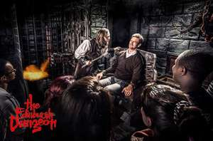 £10 instead of £22.95 for 1 ticket / £18 for 2 to The Edinburgh Dungeon inc a souvenir guidebook worth £5 via Itison (York from £8.50)
