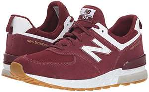 Size 6.5 (EU) Only In Red - New Balance Men's 574s Trainers £42.08 @ Amazon
