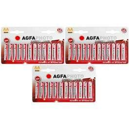36 AA Agfa batteries for £1 at poundshop (+£4.95 delivery)
