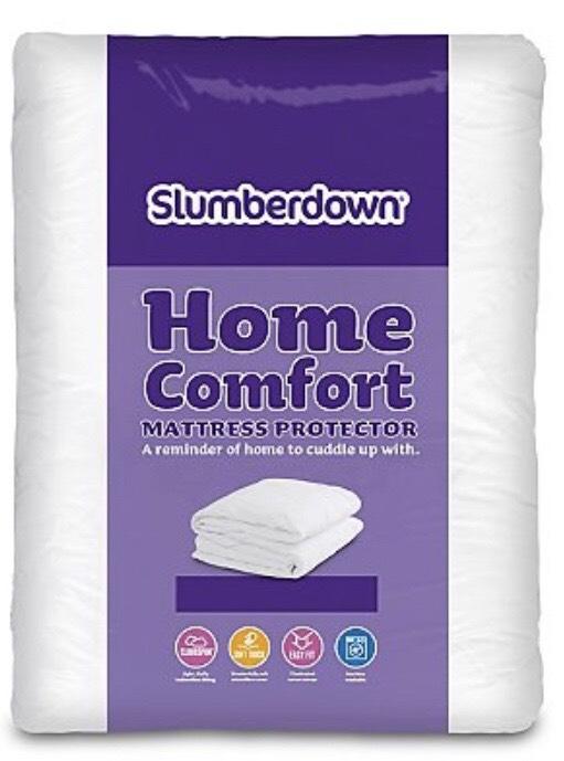 King size Slumberdown Home Comfort Mattress Protector £4 @ Asda free c+c
