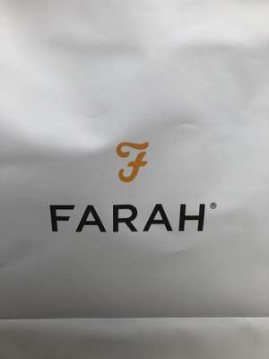 Farah Clothing 10% Off Instore when wearing Farah