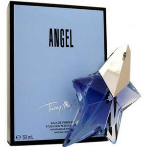Thierry Mugler Angel Refillable Star 50ml EDP Spray £42.36 delivered with code @ eBay sold by perfume_shop_direct