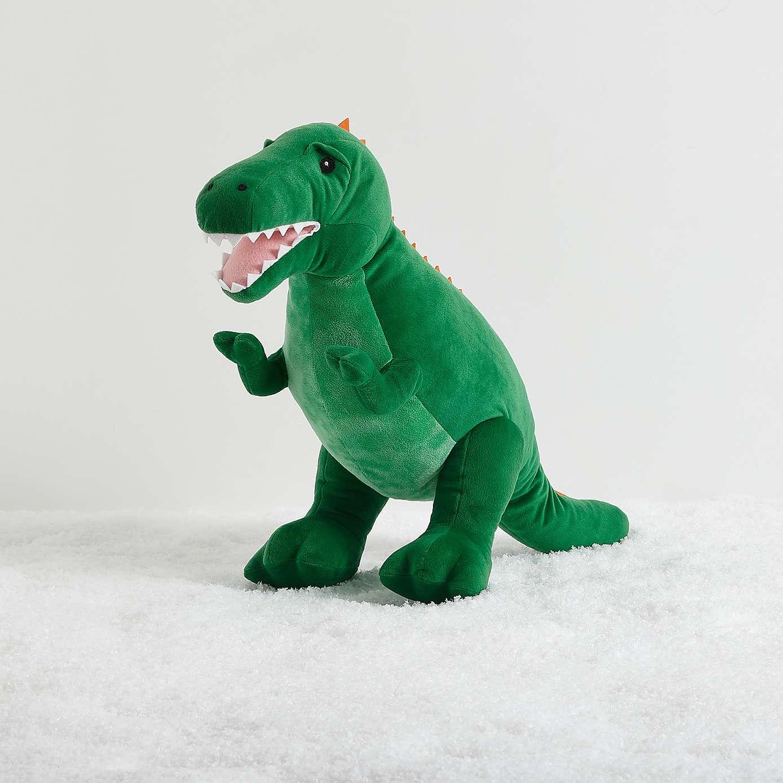 Jumbo Green Dinosaur or Unicorn 28inch Soft Toy £10 C+C @ Dunelm (Super Jumbo Dinosaur Plush with sound effects £50)