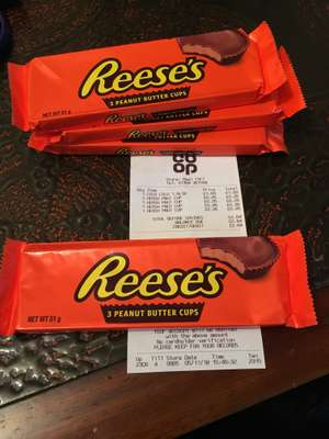 Reese's Peanut Butter Cups - 26p @ Co-Op