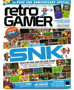 Retro Gamer Magazine Six-Month Sub and CHOICE of Controller (8bitdo N30 Pro, Hori ONYX PS4, Switch Mario and Xbox One Spectra) - £24.99