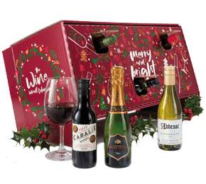 Laithwaite's Wine Advent Calendar - £62.98 (£25 off £70) + £20 off £60 for Amex users + potential 9.25% Quidco too. (Potentially £37.16)