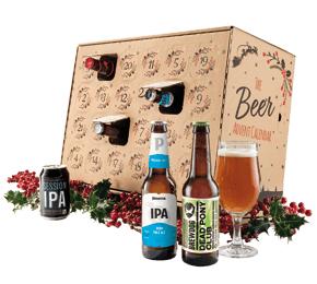 Beer advent Calendar with 24 crafty ales of advent £23.97 Laithwaites