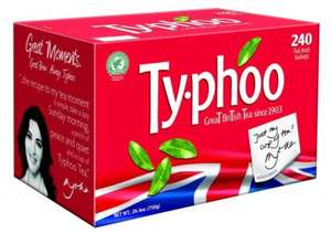 Typhoo 696g 240 Teabags for £2.50 @ Tesco (from 07/11)