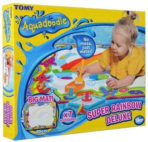 Aquadoodle E72772 Super Rainbow Deluxe - Large Mess-Free Water Drawing Mat  £17.50 (Prime) / £21.99 (non Prime) at Amazon