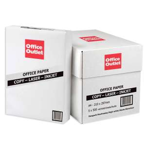 A4 Paper Stackable Discounts on 4 for 3 - 120 reams for £190.04 (£1.58each) at Office Outlet