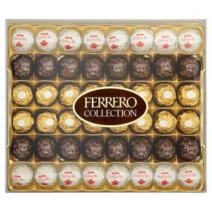 Ferrero Rocher Collection Box of Chocolate 48 Pieces only £10 @ Iceland