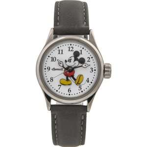 Disney Ingersoll Classic Ladies Mickey Mouse Watch with Grey Nubuck Strap now £28.99 + Free Next Day Delivery with code @ Watches2U
