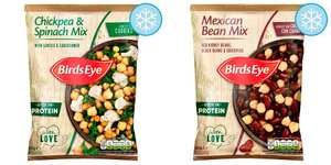Birds Eye Chickpea Spinach Vegetable Mix 450G And Birds Eye Mexican Bean Mix 450G @ Heron Foods - 60p each or 2 for £1