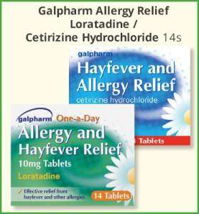 Allergy & Hayfever Relief 14 tablets 50p in Poundstretcher