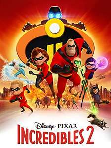 INCREDIBLES 2- Digital 4K HDR - Early access AND £7 cheaper than 4K Blu Ray anywhere! £17.99 @ Amazon