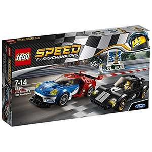 Lego Speed Champions 75881 2016 Ford GT & 1966 Ford GT40 Building Set £23.99 @ Amazon