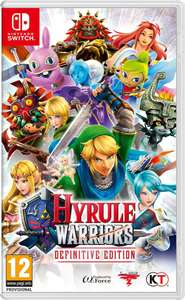 Hyrule Warriors: Def. Edition £32.29 (99p delivery) @ Zavvi (Other Switch offers below eg Lego Marvel S'heroes £19.54/ Wolfenstein 2 £33.99)