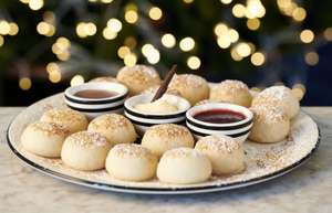 Snowball Doughball day at Pizza Express - 21 November - £1, goes to charity, to eat in or take away - includes dip