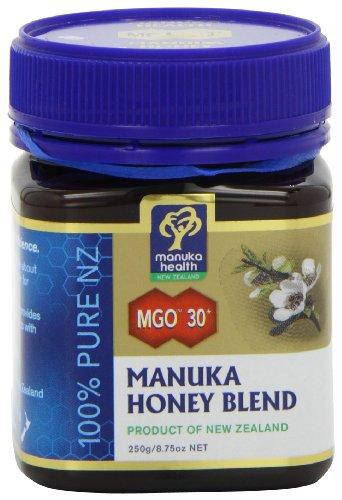 Manuka Health MGO30+ Manuka Honey 5+ 250 g £5.96 (Prime) / £10.45 (non Prime) at Amazon