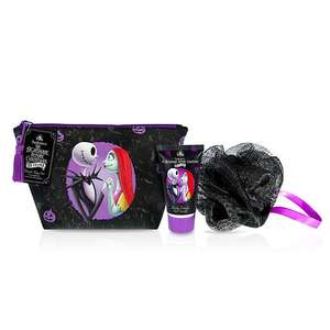 Mad Beauty The Nightmare Before Christmas Wash Bag Set 25th anniversary edition @ shop disney  (+ £2.95 c&c / £3.95 del)