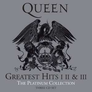 QUEEN The Platinum Collection Remaster – Greatest Hits 1, 2