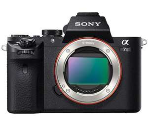 Sony a7II Full-Frame Mirrorless Camera (Body only) for £1059 (£759 after Sony cashback) at Bristol Cameras
